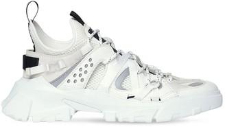 McQ Descender Leather & Fabric Sneakers