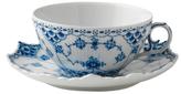 Royal Copenhagen Full Lace Tea Cup & Saucer