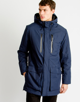 Selected Raven Jacket Navy