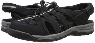 DREW Element (Black Nubuck) Women's Sandals