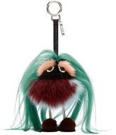 Fendi Multicolor Fur Bug Keychain
