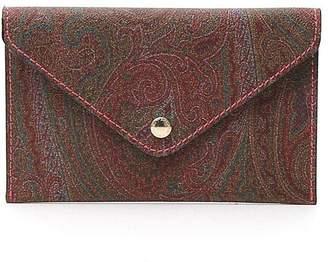 Etro Paisley Print Envelope Clutch Bag