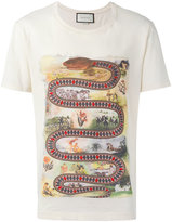 Gucci kingsnake print t-shirt