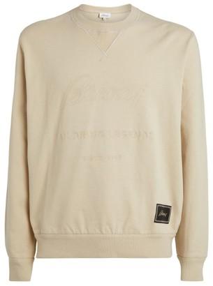Brioni Cotton Logo Sweatshirt