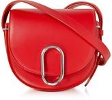 3.1 Phillip Lim Alix Scarlet Leather Mini Saddle Crossbody Bag