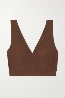Chantelle - Soft Stretch Jersey Bralette - Brown
