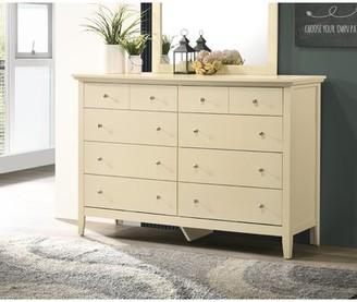 Laurel Foundry Modern Farmhouse Sonja 8 Drawer Double Dresser Color: Beige
