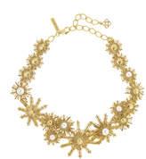 Oscar de la Renta Pearly Sun Star Necklace