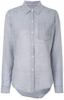 Current/Elliott striped fitted shirt