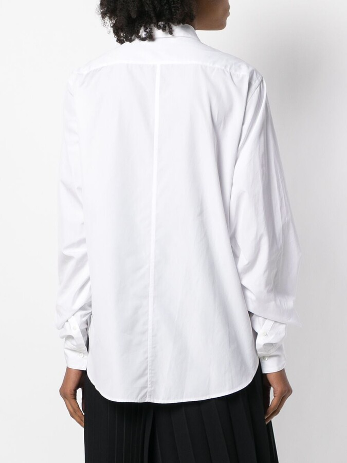 Thumbnail for your product : 3.1 Phillip Lim Ruched Long-Sleeve Shirt