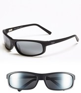 Maui Jim Men's 'Legacy - Polarizedplus2' 61Mm Polarized Sunglasses - Matte Black/ Neutral Grey