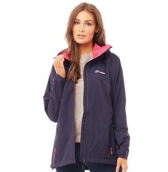 Berghaus Womens Deluge Pro Hydroshell Waterproof Shell Jacket Dark Blue/Dark Blue