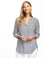 Old Navy Striped Button-Front Tunic for Women