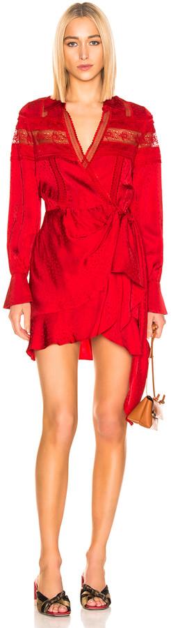4976630d26b Self-Portrait Red Dresses - ShopStyle