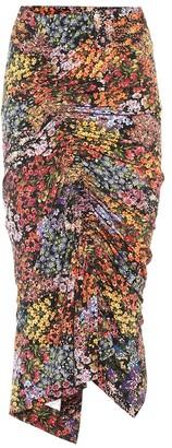 Preen by Thornton Bregazzi Monna floral stretch crepe skirt
