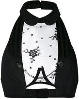 Chantal Thomass Sensation waistcoat bra