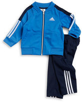adidas Baby Boys Striped Jacketand Pants Suit
