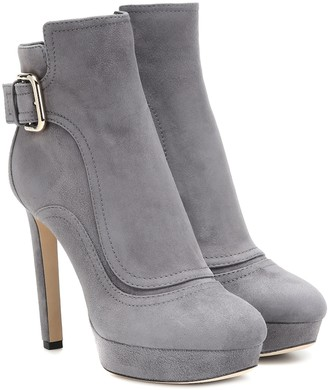 Jimmy Choo Britney 115 suede ankle boots