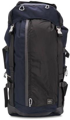 Porter Yoshida & Co Buckled Multi-Pocket Backpack