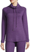 Asstd National Brand Long Sleeve Sweaterknit Sleep Top w/ Hood