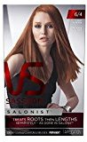 Vidal Sassoon Salonist Hair Colour Permanent Color Kit, 6/4 Light Auburn