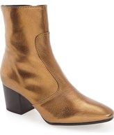 Topshop 'Mustard' Block Heel Boot (Women)