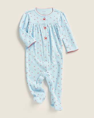 Carter's Newborn Girls) Pointelle Cherry Footie