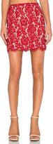 Lucy Paris Bradshaw Lace Pencil Skirt