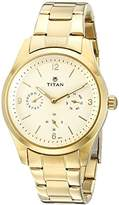 Titan Women's 9962YM01 Purple Analog Display Quartz Watch