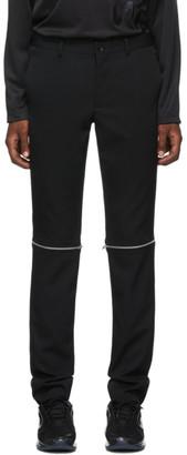Comme des Garcons Black Zip-Off Trousers