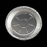 Disposable Round Foil Pie Dishes 21Cm X 4.5Cm 10/Pack by PinkWebShop