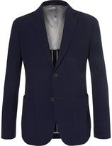 Giorgio Armani Upton Virgin Wool-Blend Seersucker Suit Jacket