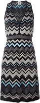 M Missoni knitted dress - women - Cotton/Polyamide/Polyester/Metallic Fibre - 44