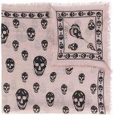 Alexander McQueen Skull scarf - women - Silk/Modal - One Size