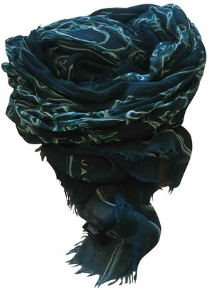 Marc by Marc Jacobs Green Polyester Scarves