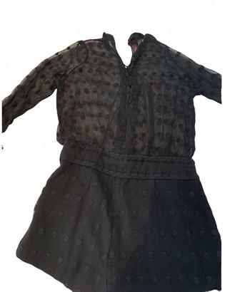 IRO Spring Summer 2019 Black Cotton Jumpsuits