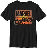 Fifth Sun Boys' Tee Shirts BLACK - Marvel Black Glow Tee - Boys
