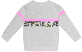 Stella McCartney Printed cotton-blend sweater
