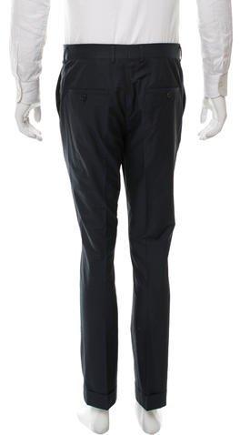 Marni Iridescent Flat Front Pants