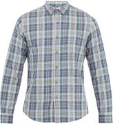 Faherty Ventura plaid brushed-cotton shirt