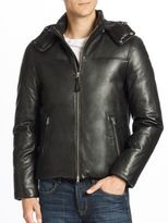 Mackage Balfour Leather Down Jacket