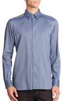 Ermenegildo Zegna Solid Long Sleeve Shirt