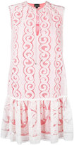 Just Cavalli lace detail dress - women - Cotton/Polyester/Viscose - 38