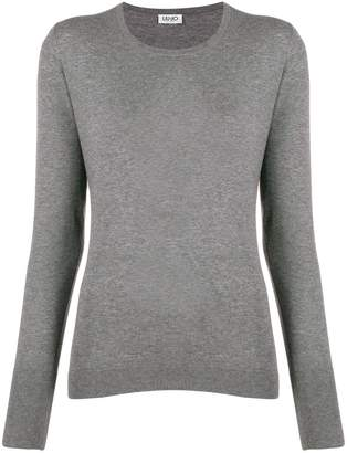 Liu Jo crew-neck knit sweater