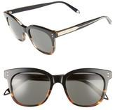 Victoria Beckham Women's The 52Mm Retro Sunglasses - Black/ Soft Grey