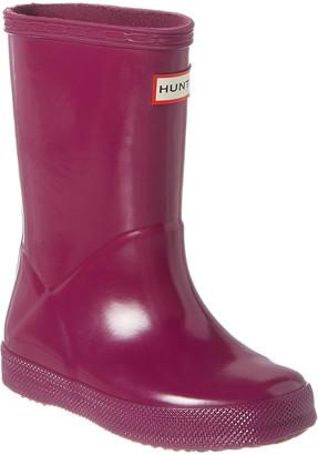 Hunter First Classic Gloss Rain Boot