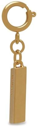 Mulberry Alphabet Brass Keyring - I Gold Zinc