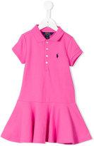 Ralph Lauren polo dress - kids - Cotton/Spandex/Elastane - 12 yrs