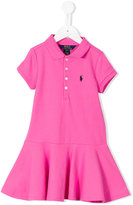 Ralph Lauren polo dress - kids - Cotton/Spandex/Elastane - 8 yrs