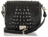Brahmin Mini Sonny Leather Crossbody Bag - Black